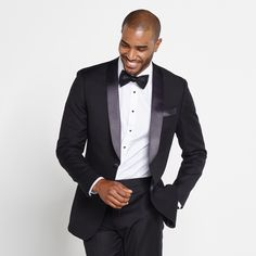 Shawl Collar Tuxedo: It's for those who are interested in making a statement with a truly timeless style. Crafted from 100% merino wool with 2 inch satin lapels and a single button.