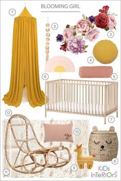 Kids room ideas – Home Decor Designs Baby Bedroom, Nursery Room, Girl Nursery, Nursery Decor, Elephant Nursery, Yellow Walls Living Room, Sophisticated Nursery, Baby Room Design, Yellow Nursery