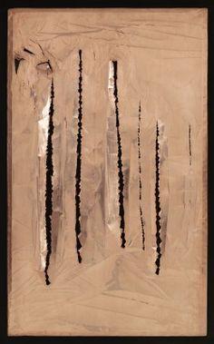 Lucio Fontana copper '62