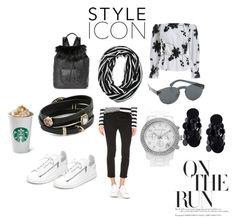 """""""College Style...."""" by paige-brrian ❤ liked on Polyvore featuring Dsquared2, Michael Kors, Elizabeth and James, Y-3, Alexis Bittar, RetroSuperFuture and Monies"""