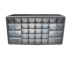 Casier de rangement 30 tiroirs - CASTORAMA