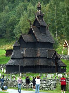 Borgund church SG20050905 015 Fjords Norway