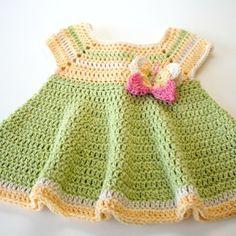 The skirt is flouncy!