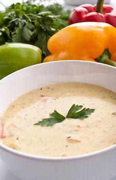 Mliečna zeleninová polievka