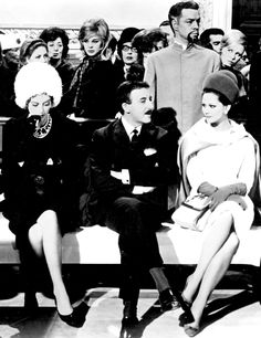 Capucine, Peter Sellers and Claudia Cardinale from Pink Panther. Laurent did their costumes. Rosa Panther, Claudia Cardinale, French Models, Film Studio, Pink Panthers, Rap Music, Looking For Love, Golden Age Of Hollywood, Brigitte Bardot