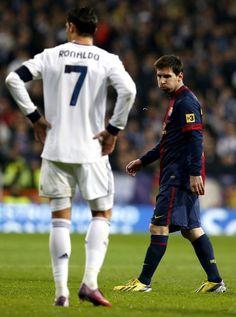 Messi or Cristiano Ronaldo? Cristiano Ronaldo Cr7, Cr7 Vs Messi, Lionel Messi, Neymar, Sport Football, Football Fans, Real Madrid, Ronaldo Quotes, Santiago Bernabeu