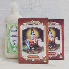 Innovando mezclas de color para el pelo: 2/3 castaño claro  1/3 castaño caoba. #averquesale #henna #tintenatural