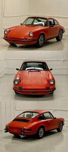 1971 Porsche 911 T Barn Find Barn Finds For Sale, Man Set, Le Mans, Porsche 911, Shades Of Blue, Touring, Cutaway