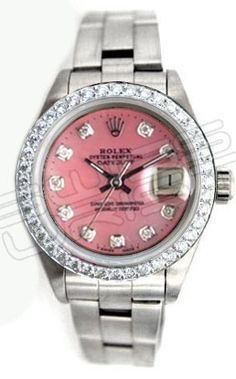 SOMEDAY, I will have a pink Rolex. :)