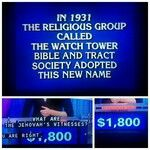 We were an answer on Jeopardy