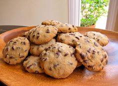 The Best Passover Chocolate Chip Cookies Ever! Recipe via Tori Avey. #Passover #cookies
