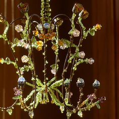 A May Flowers Sunshower Chandelier by BellStudios on Etsy, $62.00