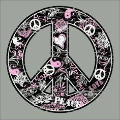 ☯~Yin y Yang~☯  ⊰❁⊱ Mandala ⊰❁⊱  ☮✌~Paz~✌☮ ❤~ AMOR ~❤