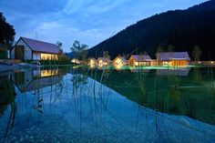 Talk about location… hidden amongst the epic mountains of northern Slovenia, yet…