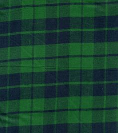 Plaid Shirting Fabric Black Watch If I ever make a t-shirt quilt