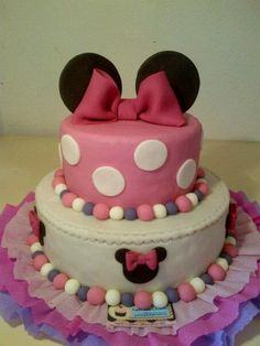 More Mini Mouse Cake