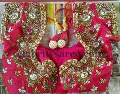 Sequins and Stone Work Blouses - Saree Blouse Patterns