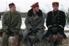 "Still of Daniel Brühl and Guillaume Canet in ""Joyeux Noel""."