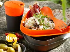 Light My Fire: perfect meal kit for camping! Light My Fire, Backpacking Europe, Kitchen Collection, Camping Accessories, Food Containers, Holiday Fun, Picnic, Cool Designs, Meals
