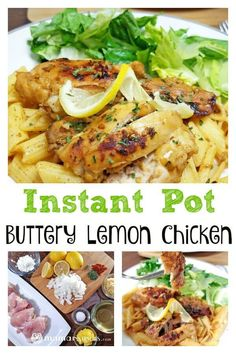 Delicious Instant Pot Buttery Lemon Chicken – Mama Instincts® This recipe has been made over times and everyone raves about it! Whether you're new to your Instant Pot, or you're an experienced chef, you will love the flavor of this lemon butter chicken. Lemon Chicken Pasta, Lemon Butter Chicken, Chicken Parmesan Recipes, Honey Garlic Chicken, Diced Chicken, Chicken Breast Instant Pot Recipes, Instant Pot Dinner Recipes, Top Recipes, Healthy Recipes