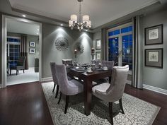 Alabaster Model Home - Somerset - Dining Room