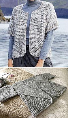 Knitting Stitches, Knitting Patterns Free, Knit Patterns, Free Knitting, Baby Knitting, Free Pattern, Baby Sweater Patterns, Knit Vest Pattern, Knit Baby Sweaters