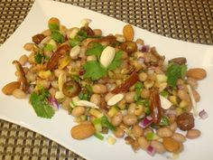 Peanuts are a good source of dietary protein and provide energy and other health benefiting nutrients, antioxidants, vitamins and minerals. This peanut salad is refreshing, tasty and easy to make.