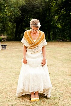 Ravelry: unoiseaudansonid's Wedding shawl .....