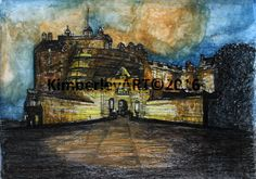 Edinburgh Castle Art