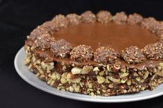 Ferrero Rocher Cake Recipe Recipe