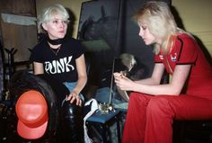 "miss-accacia27: ""Debbie Harry & Cherie Currie """