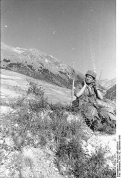 Fallschirmjager Gran Sasso raid september 1943, pin by Paolo Marzioli