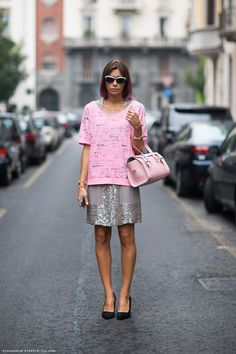 Pretty in pink. Carolines Mode | StockholmStreetStyle