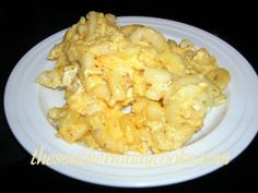 Southern Custard-style Mac 'n Cheese. Macaroni and cheese is a great side dish for any meal. Your family will love the richness of this easy recipe for this old favorite. 1 cups elbow macaroni, cooked according to package directio. Macaroni And Cheese Casserole, Cheesy Mac And Cheese, Mac Cheese, Cheddar Cheese, Baked Macaroni, Side Dish Recipes, Pasta Recipes, Dinner Recipes, Cooking Recipes