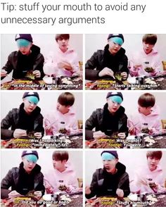 BTS SG SJ   HAHA SUGA's like a baby boy not wanting to admit his mistakes it's so cutee