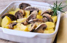 Funghi con patate in umido ricetta contorno