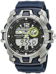 Armitron Sport Men's 20/5157NVY Analog-Digital Chronograph Navy Blue Resin Strap Watch https://www.carrywatches.com/product/armitron-sport-mens-205157nvy-analog-digital-chronograph-navy-blue-resin-strap-watch/ Armitron Sport Men's 20/5157NVY Analog-Digital Chronograph Navy Blue Resin Strap Watch  #armitronsportwatches-armitronallsport #armitronwatches #Chronographwatch