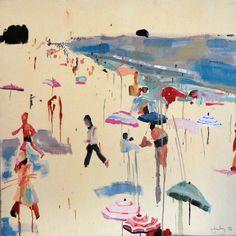 Amazing painting by Caroline Zucchero Hurley http://carolinezhurley.blogspot.com/
