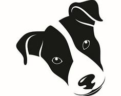 Jack Russel Terrier #2 Dog Breed K-9 Animal Pet Hound Puppy Logo .SVG .EPS .PNG Digital Clipart Vector Cricut Cut Cutting Download File