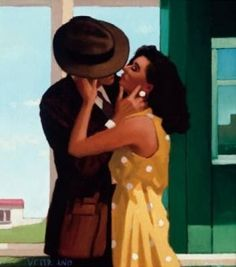 the last great romantic by Jack Vettriano