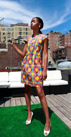 Kaleidoscope Dress by venusoverwater on Etsy, $60.00