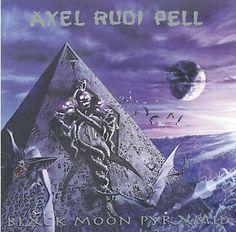 """L'album di #AxelRudiPell intitolato """"Black Moon Pyramid""""."""