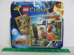 LEGO Legends of Chima #1 Starter Set - CHI Waterfall. Model # 70102. 106 piece set. Ages 6-12 years. Features CHI Waterfall, lion Speedor, rip cord, power-up, 6 CHI and 5 game cards. Hit the target and catch the CHI orb. | eBay!