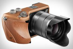 Cause one never knew that you can use mahogany to make such a beautiful photo-taking machine...