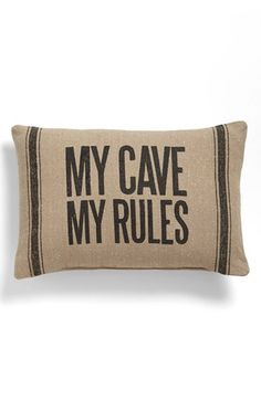 Primitives by Kathy 'My Cave' Pillow available at #Nordstrom