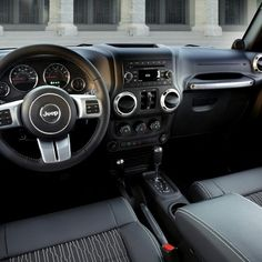 jeep wrangler 4 door interior