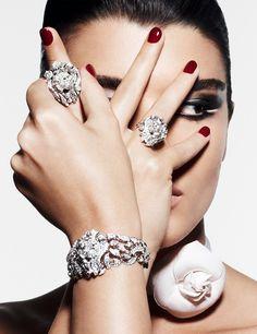 Chanel Joaillerie dans Vogue Paris