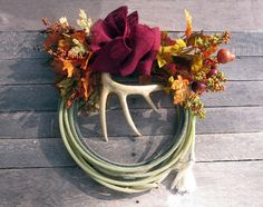 Make a Lariat Rope Fall Wreath