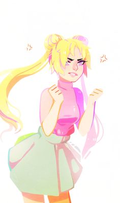 """flowersilk: """" i haven't had time to draw anything refined lately so i've been just doodling when i can. here's a quick usagi! she's v miffed """" Sailor Moon Fan Art, Sailor Moon Usagi, Sailor Moon Crystal, Tag Art, Studio Ghibli, Illustrations, Illustration Art, Sailor Moon Personajes, Character Art"""