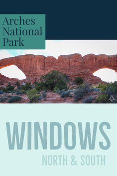The Windows are just one of the amazing sights you can see on Arches National Park scenic drive!